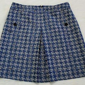 Nine West Houndstooth Skirt